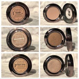 3 Urban Decay Eyeshadows